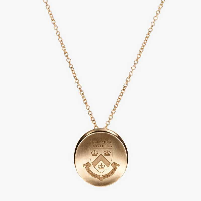 CLM0113: Cavan Gold Columbia Organic Necklace by KYLE CAVAN
