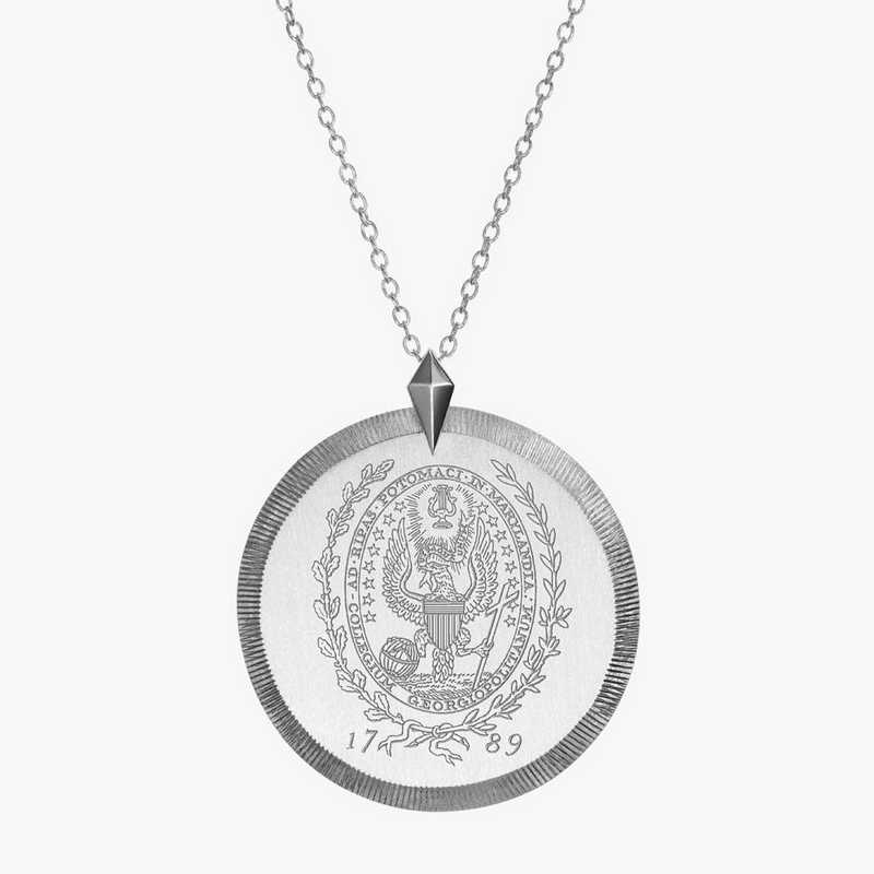 GTW0121: Sterling Silver Georgetown Florentine Necklace by KYLE CAVAN