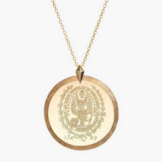 GTW0122: Cavan Gold Georgetown Florentine Necklace by KYLE CAVAN