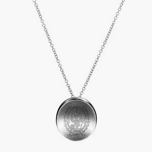 GTW0112: Sterling Silver Georgetown Organic Necklace by KYLE CAVAN