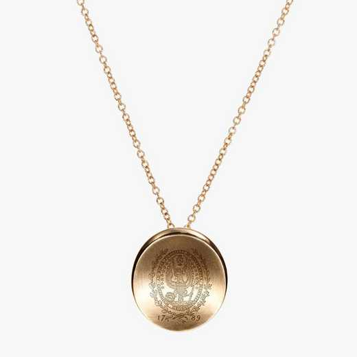 GTW0113AU: 14k Yellow Gold Georgetown Organic Necklace by KYLE CAVAN