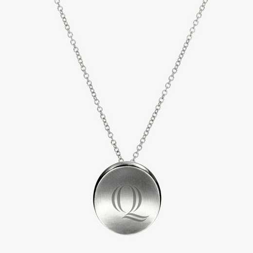 QU0112Q: Sterling Silver Quinnipiac Organic Necklace by KYLE CAVAN