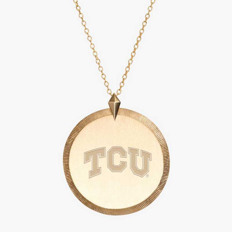 TCU0122: Cavan Gold TCU Florentine Necklace by KYLE CAVAN