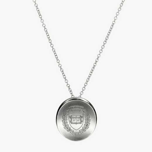 YAL0112: Sterling Silver Yale Organic Necklace by KYLE CAVAN