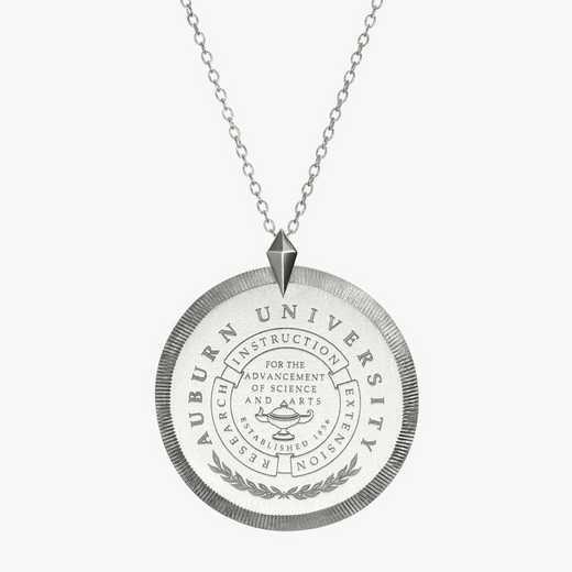 AUB0121: Sterling Silver Auburn Florentine Necklace by KYLE CAVAN