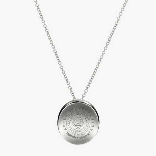 AUB0112: Sterling Silver Auburn Organic Necklace by KYLE CAVAN
