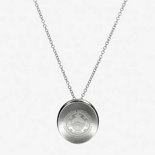 BU0112: Sterling Silver BU Organic Necklace by KYLE CAVAN