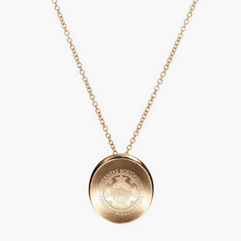 BU0113AU: 14k Yellow Gold BU Organic Necklace by KYLE CAVAN