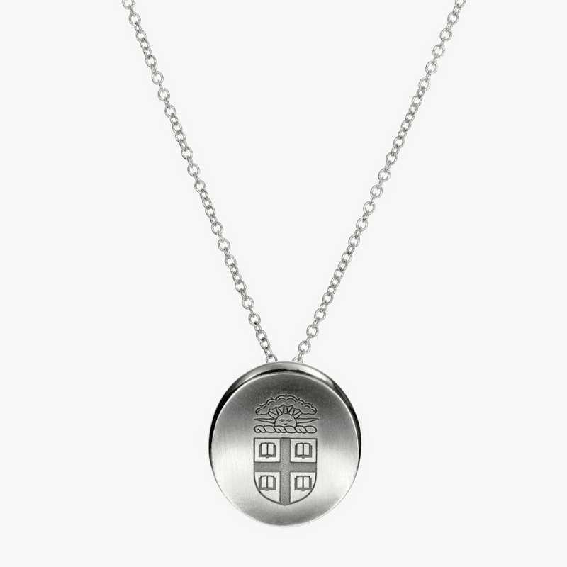 BRO0112: Sterling Silver Brown Organic Necklace by KYLE CAVAN