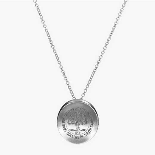 CIT0112: Sterling Silver Citadel Organic Necklace by KYLE CAVAN
