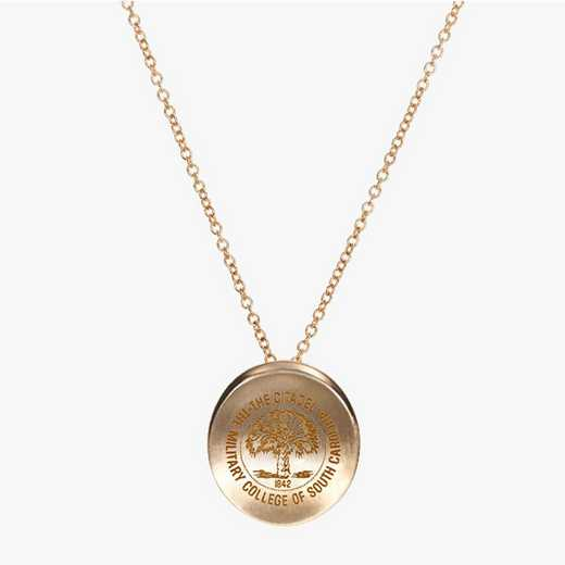 CIT0113: Cavan Gold Citadel Organic Necklace by KYLE CAVAN