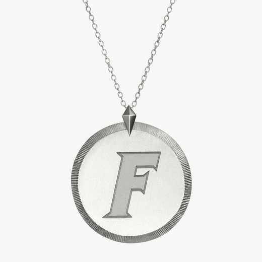 FL0121F: Sterling Silver Florida Florentine Necklace by KYLE CAVAN