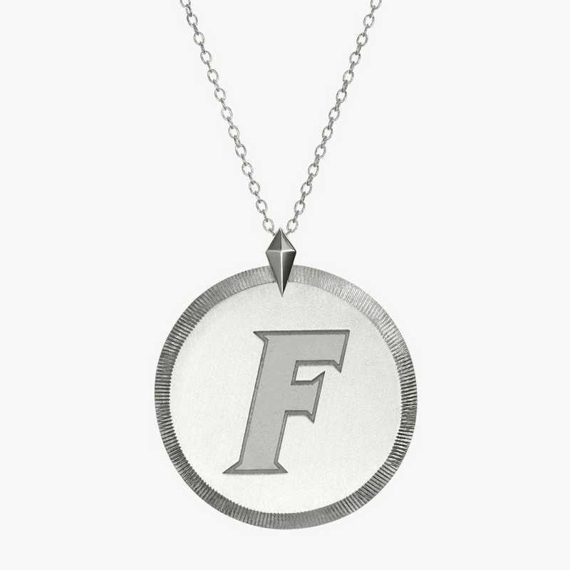 FL0121F: Sterling Silver Florida Florentine Necklace by KYLE CAVAN