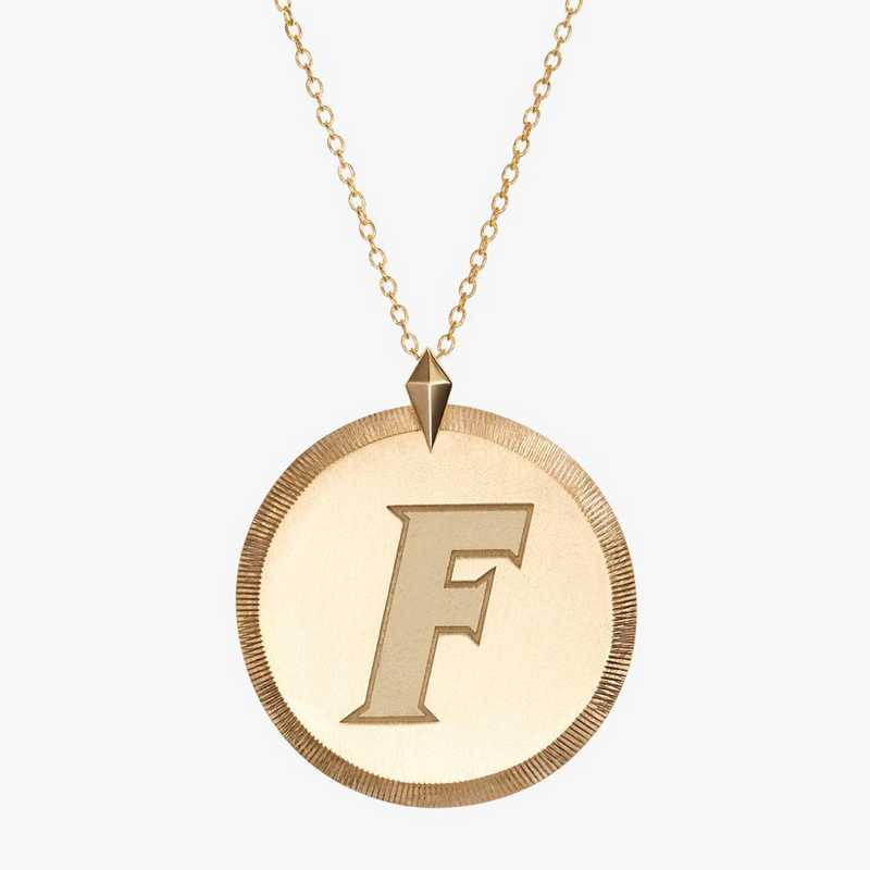 FL0122AUF: 14k Yellow Gold Florida Florentine Necklace by KYLE CAVAN