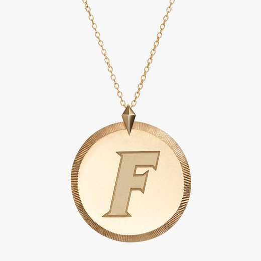 FL0122F: Cavan Gold Florida Florentine Necklace by KYLE CAVAN