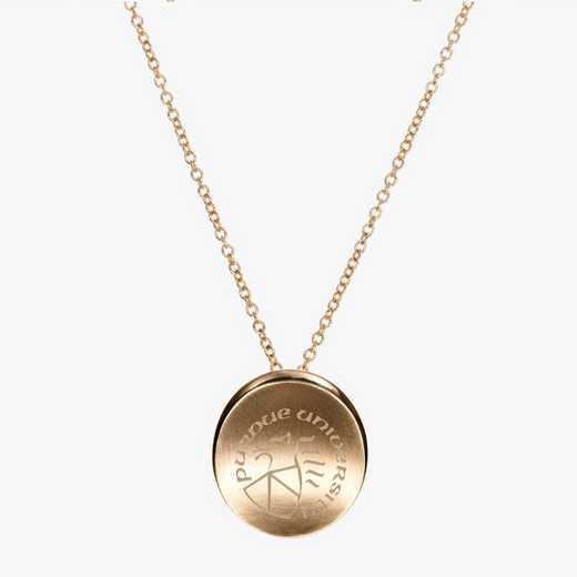 PUR0113: Cavan Gold Purdue Organic Necklace by KYLE CAVAN