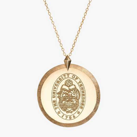 TEN0122: Cavan Gold Tennessee Florentine Necklace by KYLE CAVAN
