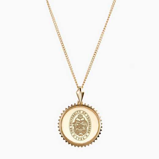 TEN0116: Cavan Gold Tennessee Sunburst Necklace by KYLE CAVAN