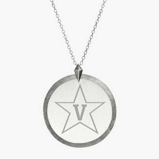 VAN0121STAR: Sterling Silver Vanderbilt Florentine Necklace by KYLE CAVAN