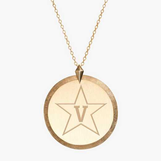 VAN0122STAR: Cavan Gold Vanderbilt Florentine Necklace by KYLE CAVAN