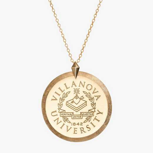 VU0122AU: 14k Yellow Gold Villanova Florentine Necklace by KYLE CAVAN