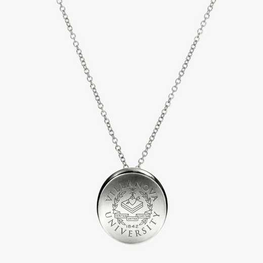 VU0112: Sterling Silver Villanova Organic Necklace by KYLE CAVAN