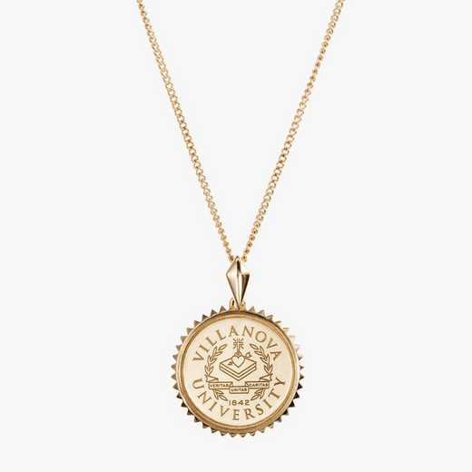 VU0116AU: 14k Yellow Gold Villanova Sunburst Necklace by KYLE CAVAN