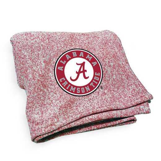 102-24J-1: LB Alabama Jersey Knit Throw