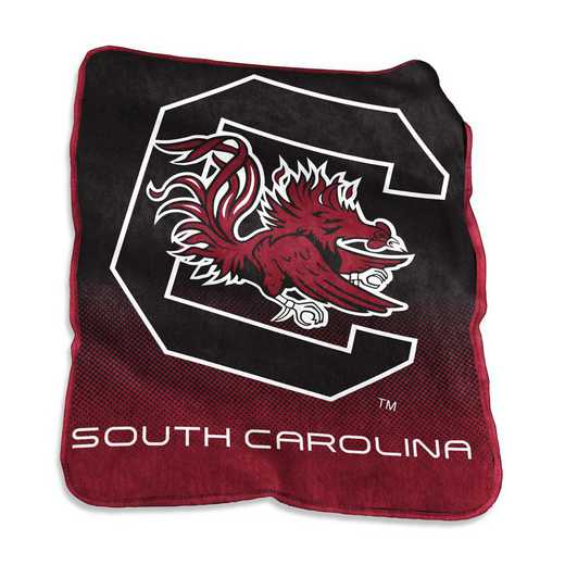 208-26A: LB South Carolina Raschel Throw