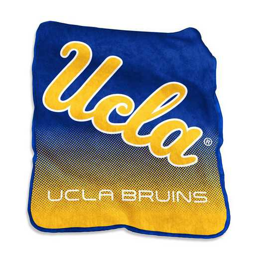 229-26A: LB UCLA Raschel Throw