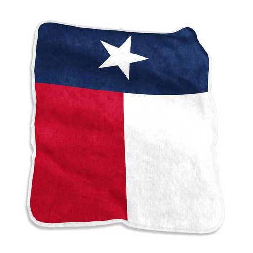 589-26: LB State of TX Flag Rachel Throw
