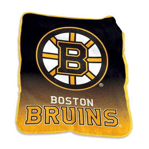 803-26A: LB Boston Bruins Raschel Throw