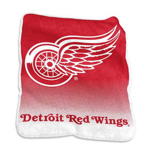 811-26A: LB Detroit Red Wings Raschel Throw