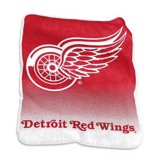 811-26A: LB Detroit Red Wings Raschel Throw