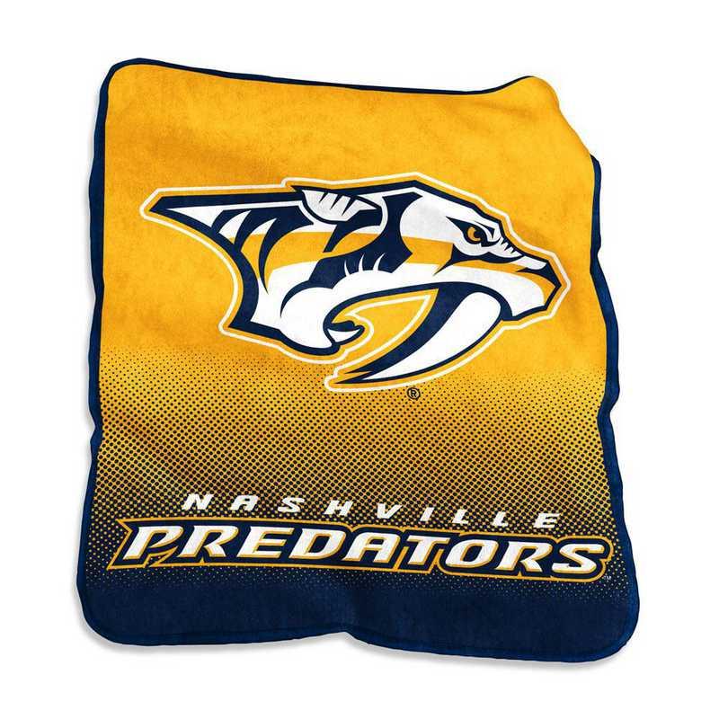 817-26A-1: LB Nashville Predators Raschel Throw
