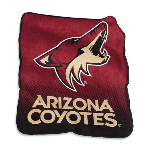 823-26A: LB Arizona Coyotes Raschel Throw