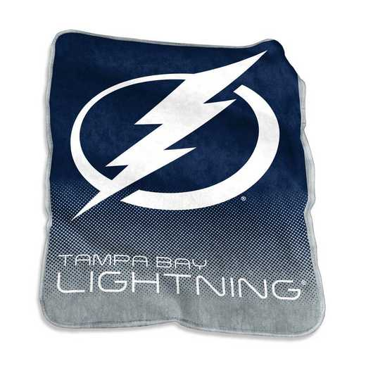 827-26A: LB Tampa Bay Lightning Raschel Throw
