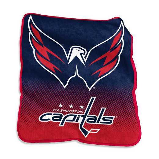 830-26A: LB Washington Capitals Raschel Throw