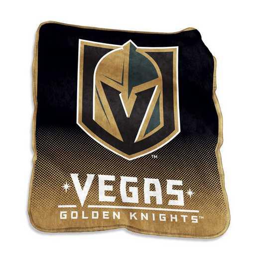 874-26A: LB Vegas Golden Knights Raschel Throw