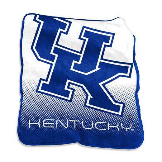 159-26A: LB Kentucky Raschel Throw