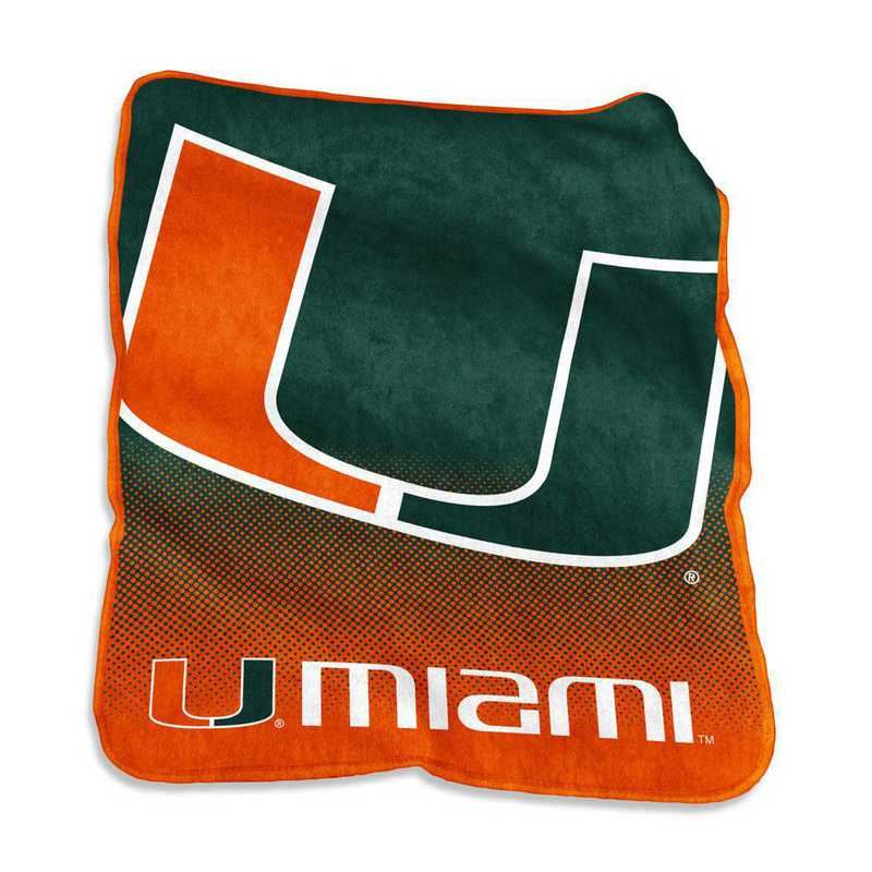 169-26A: LB Miami Raschel Throw