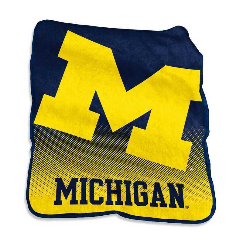 171-26A: LB Michigan Raschel Throw