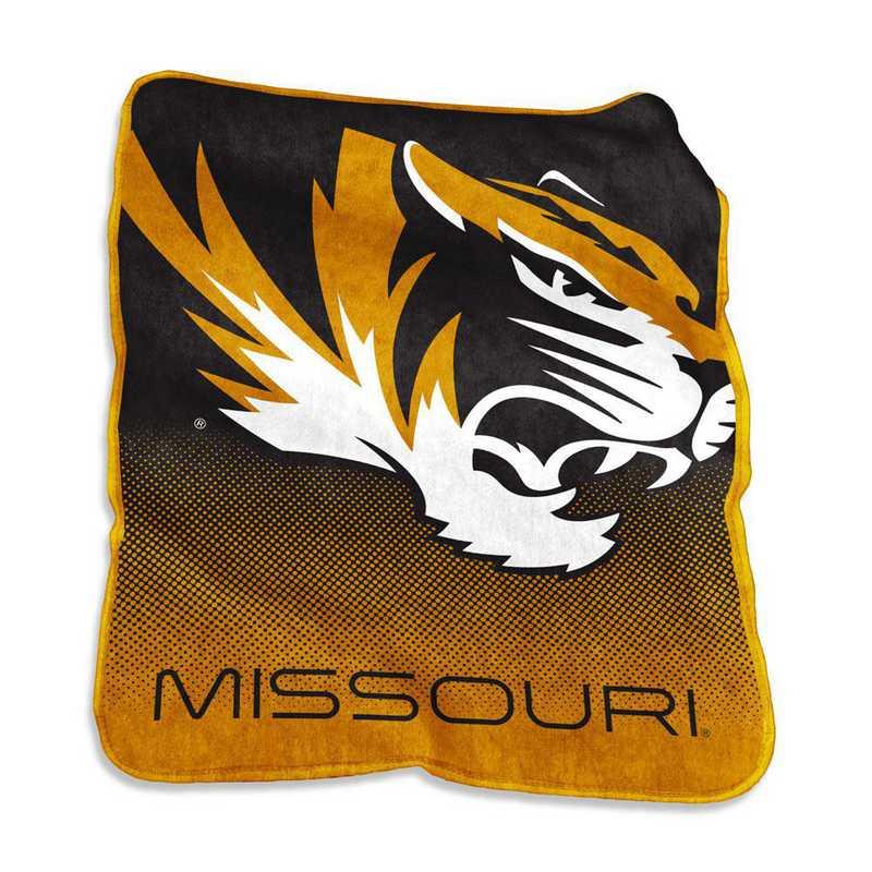 178-26A: LB Missouri Raschel Throw