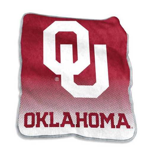 192-26A-1: LB Oklahoma Raschel Throw