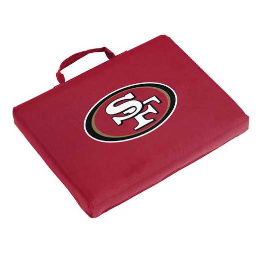 627-71B: San Francisco 49ers Bleacher Cushion