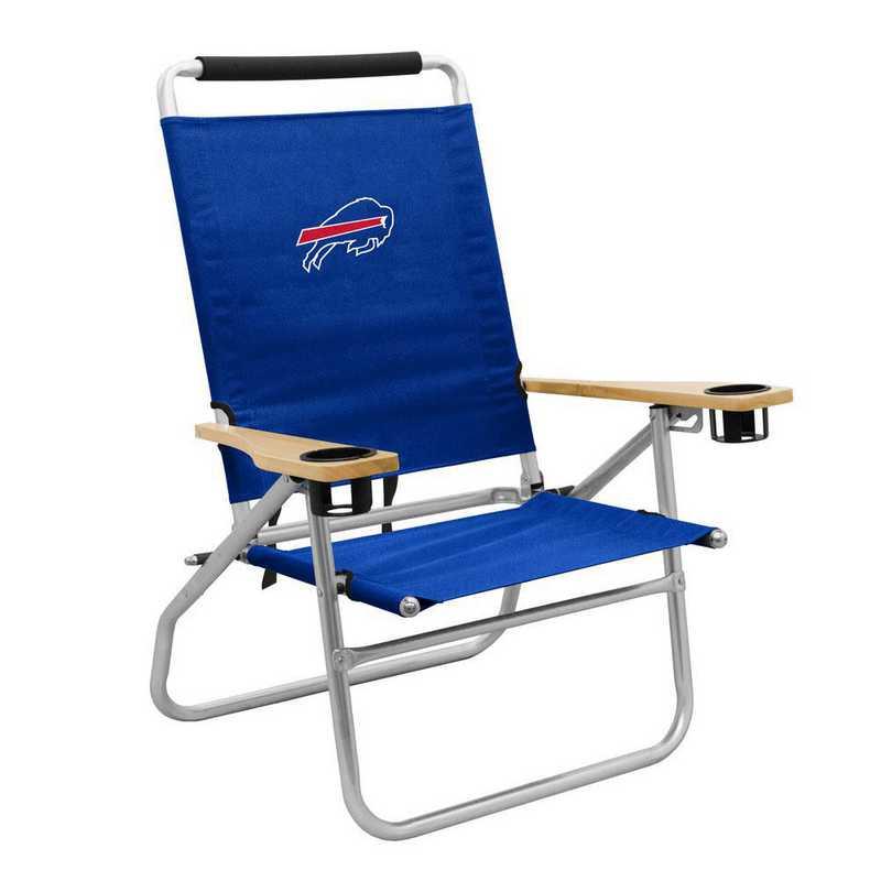 604-16B: LB Buffalo Bills Beach Chair
