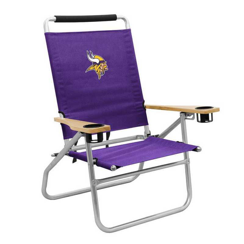 618-16B: LB Minnesota Vikings Beach Chair