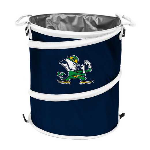 190-35-1: NCAA Notre Dame Navy/Wht Cllpsble 3-in-1