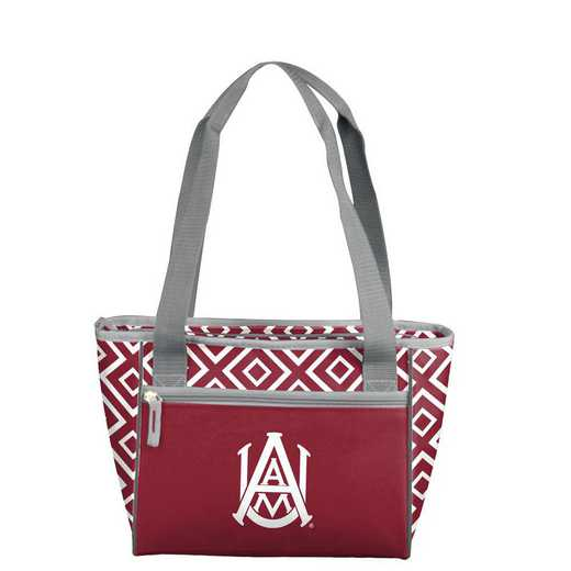 103-83DDM: Alabama A&M Mavrik DD 16 Can Cooler Tote