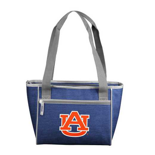 110-83-CR1: Auburn Crosshatch 16 Can Cooler Tote